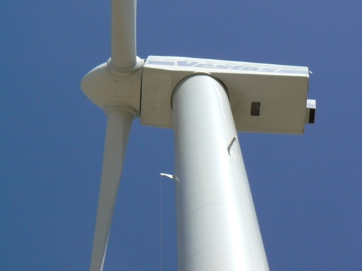 660 kW wind turbine