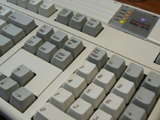 Datadesk 101e keyboard
