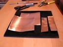 copper foil pieces
