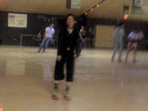 Gwen skating