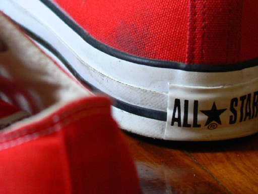 'Red Chucks' by Purploony on Flickr