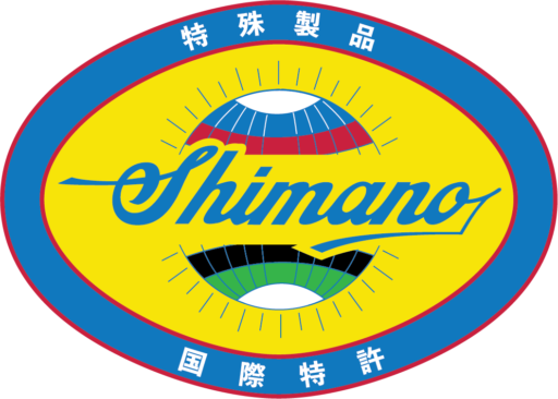 Shimano logo in the style of the Campagnolo oval